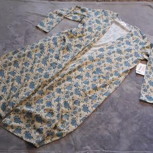 NWT LuLaRoe women's size L Sarah long cardigan